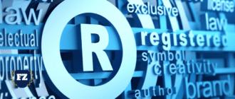 R торговая марка гл