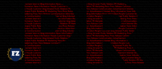красные буквы пиара гл
