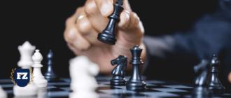 маркетинг стратегический шахматы рука гл