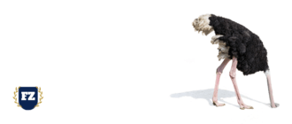 страус в песок голову гл