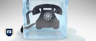 телефон во льду гл