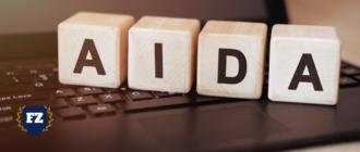 AIDA кубики на коричневом гл