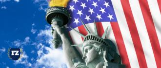 флаг америки небо гл