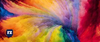цветные облака завихрюшки гл