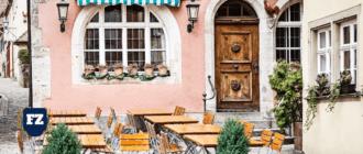 кафе на улице без названия гл