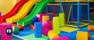 детская игровая комната батут гл