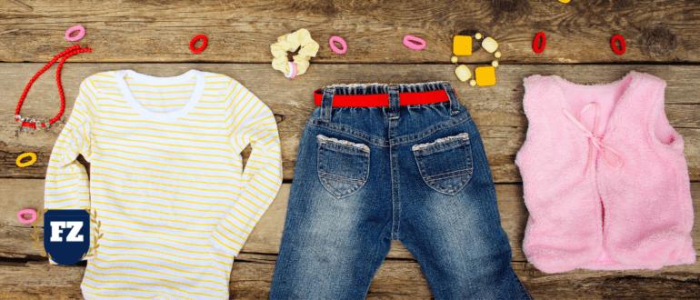 детская одежда пошив джинсы кофты гл
