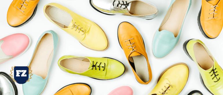 обувь разноцветная гл