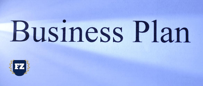 бизнес план большими буквами на чистом листе гл