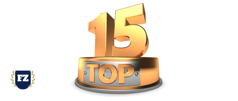 топ 15 производство гл